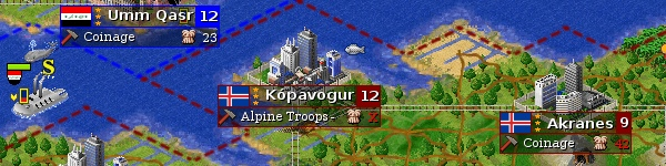Screenshot Freeciv