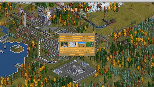 Screenshot: Open Transport Tycoon