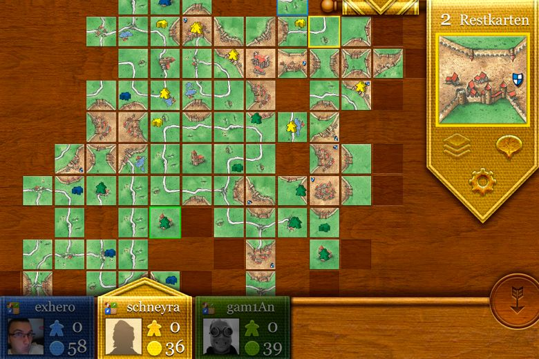 Carcassone-Screenshot
