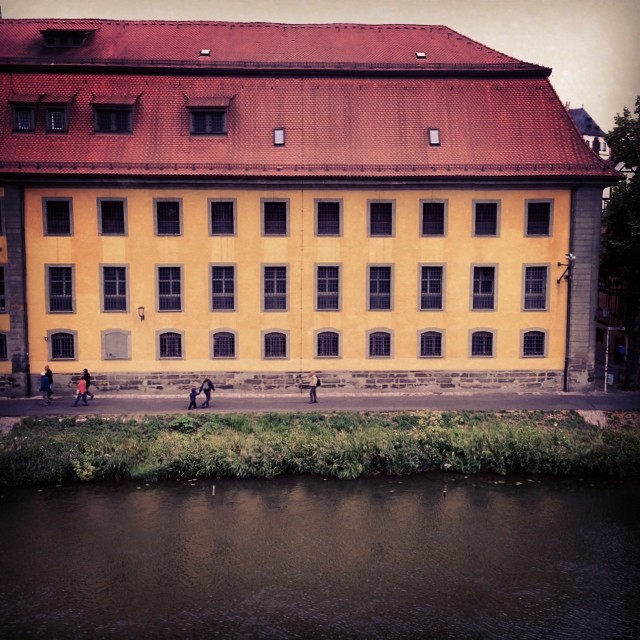 Room with an view: Die Bamberger Justizvollzugsanstalt. #bamberg #jva #gefängnis #crime #gangster