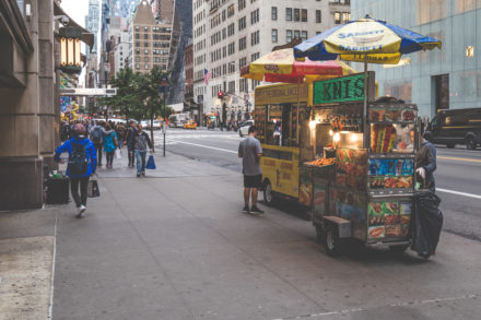 Hotdog-Stand New York