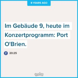 "Screenshot aus der App ""Timehop""."""