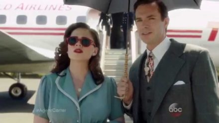 Cover des Videos 'Agent Carter Lands in L.A. - Marvel's Agent Carter Season 2 Preview'